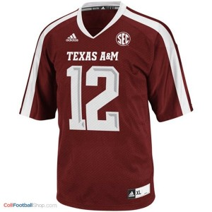 12th Man Texas A&M Aggies #12 Football Jersey - Maroon Red