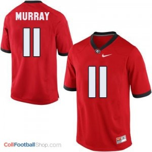 Aaron Murray Georgia Bulldogs (UGA) #11 Football Jersey - Red