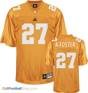 Arian Foster Tennessee Volunteers #27 Football Jersey - Orange