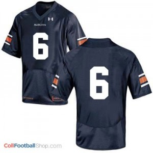 Auburn Tigers #6 Football Jersey - Blue