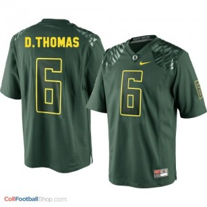 De'Anthony Thomas Oregon Ducks #6 Football Jersey - Green