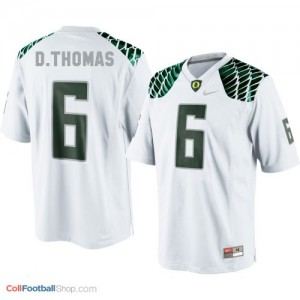 De'Anthony Thomas Oregon Ducks #6 Football Jersey - White