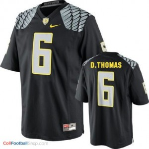 De'Anthony Thomas Oregon Ducks #6 Youth Football Jersey - Black