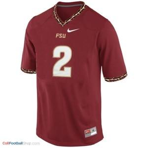 Deion Sanders Florida State Seminoles (FSU) #2 Youth Football Jersey - Red