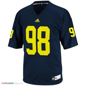 Devin Gardner Michigan Wolverines #98 Youth Football Jersey - Navy Blue