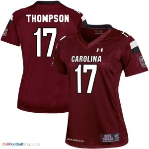 Dylan Thompson South Carolina Gamecocks #17 Women Football Jersey - Red