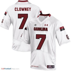 Jadeveon Clowney South Carolina Gamecocks  #7 Football Jersey - White