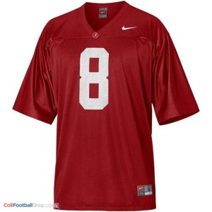 Julio Jones Alabama #8 Youth Football Jersey - Crimson Red