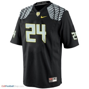 Kenjon Barner Oregon Ducks #24 Football Jersey - Black