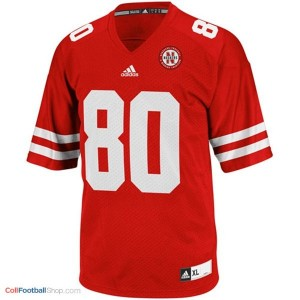 Kenny Bell Nebraska Cornhuskers #80 Football Jersey - Red