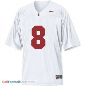 Kevin Hogan Stanford Cardinal #8 Football Jersey - White