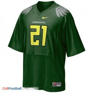 LaMichael James Oregon Ducks #21 Football Jersey - Green