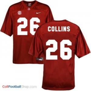 Landon Collins Alabama #26 Football Jersey - Crimson Red