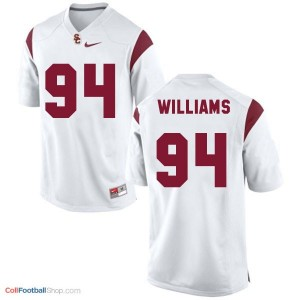 Leonard Williams USC Trojans #94 Youth Football Jersey - White