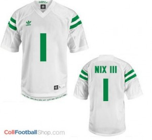 Louis Nix III Notre Dame Fighting Irish #1 Youth Football Jersey - White