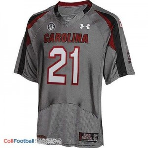 Marcus Lattimore South Carolina Gamecocks  #21 Football Jersey - Gray