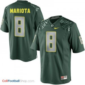 Marcus Mariota Oregon Ducks #8 Football Jersey - Green