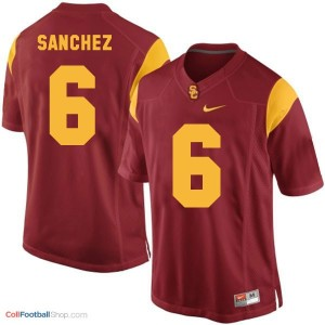 Mark Sanchez USC Trojans #6 Football Jersey - Red