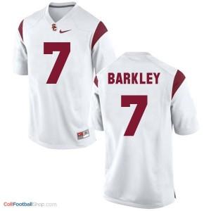 Matt Barkley USC Trojans #7 Football Jersey - White
