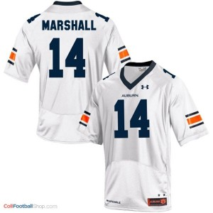 Nick Marshall Auburn Tigers #14 Football Jersey - White