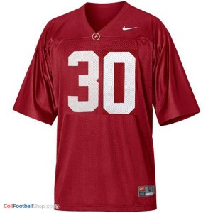 Alabama Crimson Tide Dont'a Hightower #30 Red Youth Football Jersey