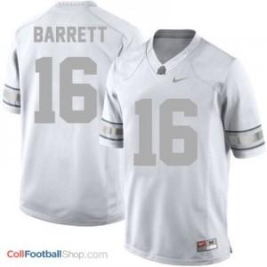J.T. Barrett Ohio State Buckeyes #16 Football Jersey - Platinum