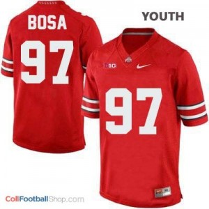 Joey Bosa Ohio State Buckeyes #97 Football Jersey - Scarlet - Youth