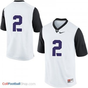 TCU Horned Frogs #2 Football Jersey - White