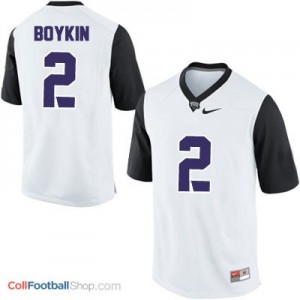 Trevone Boykin TCU Horned Frogs #2 Football Jersey - White
