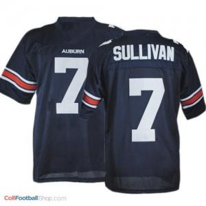 Pat Sullivan Auburn Tigers #7 Football Jersey - Navy Blue