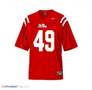 Patrick Willis Ole Miss Rebels #49 Youth Football Jersey - Red