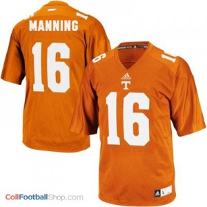 Peyton Manning Tennessee Volunteers #16 Youth Football Jersey - Orange