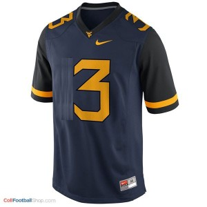 Stedman Bailey West Virginia Mountaineers #3 Youth Football Jersey - Blue