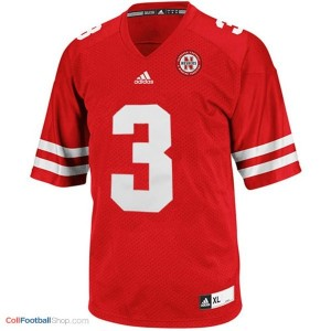 Taylor Martinez Nebraska Cornhuskers #3 Football Jersey - Red