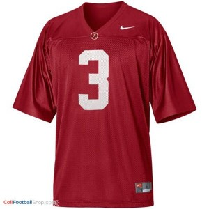 Trent Richardson Alabama #3 Youth Football Jersey - Crimson Red