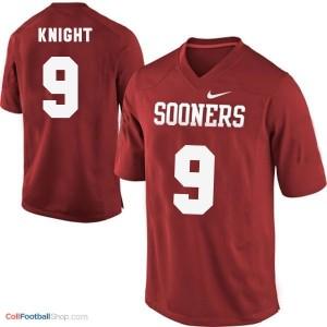 Trevor Knight Oklahoma Sooners #9 Youth Football Jersey - Red