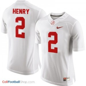 Derrick Henry Alabama #2 Youth Football Jersey - White