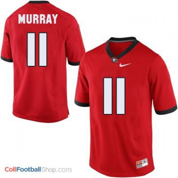 Aaron Murray Georgia Bulldogs (UGA) #11 Football Jersey - Red
