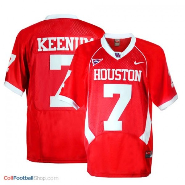 0c3395187 Case Keenum Houston Cougars #7 Football Jersey - Red