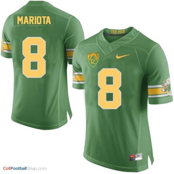 big sale 7016c b6780 Marcus Mariota Oregon Ducks 20th Anniversary The Pick Youth Football Jersey  - Green
