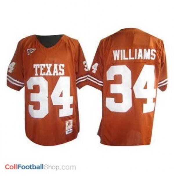 new product 406de f9778 Ricky Williams Texas Longhorns #34 Youth Football Jersey - Orange