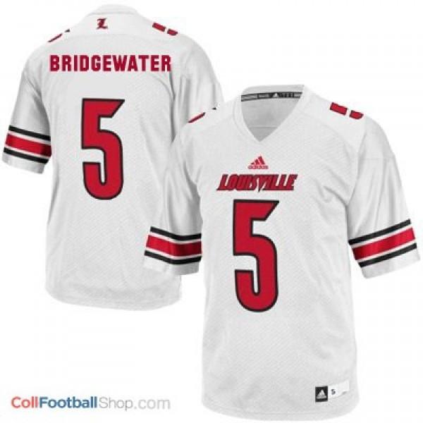 new style a1b41 b1905 Teddy Bridgewater Louisville Cardinals #5 Youth Football Jersey - White